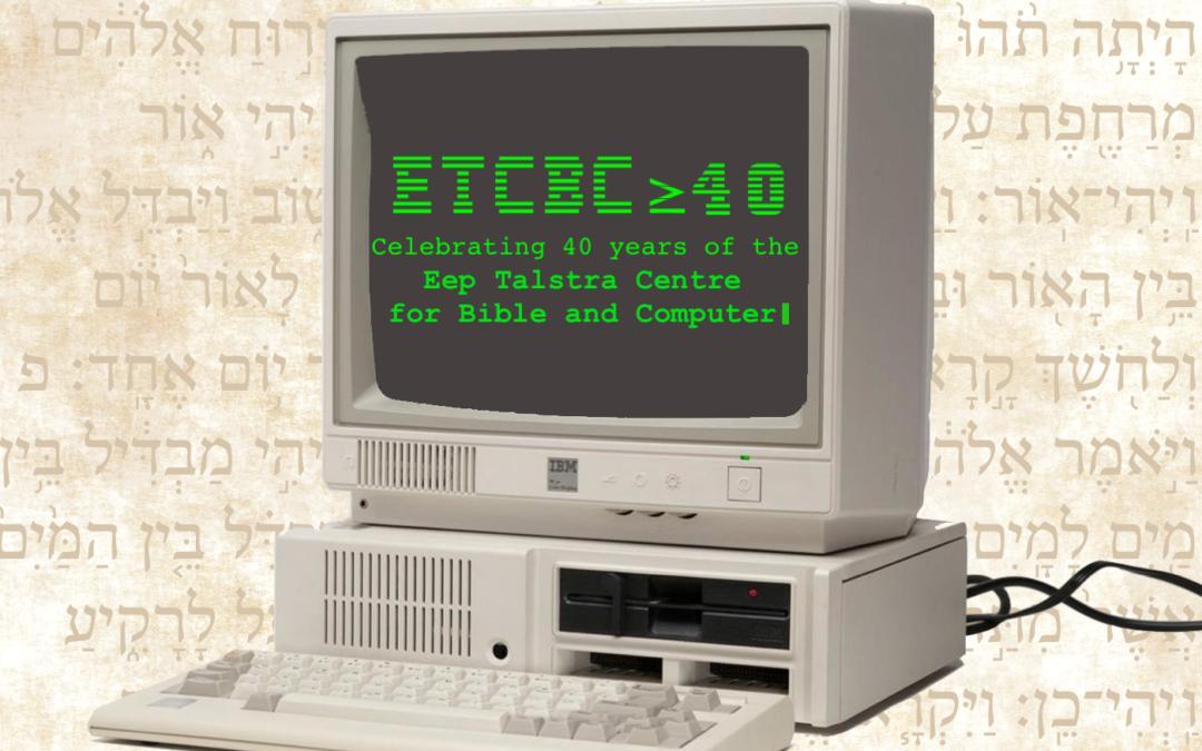 ETCBC≥40 Livestream