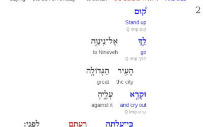 Digital Tools for the Study of Biblical Hebrew