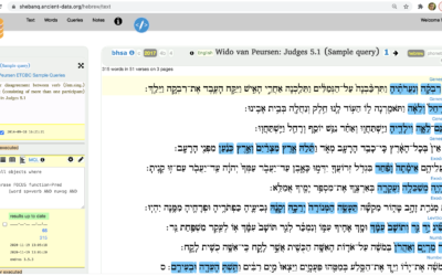 Translating the Bible with the help of SHEBANQ